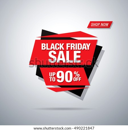 Black friday sale banner #490221847