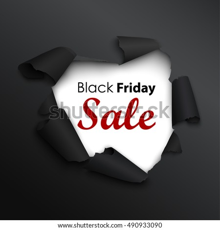black friday sale banner in the