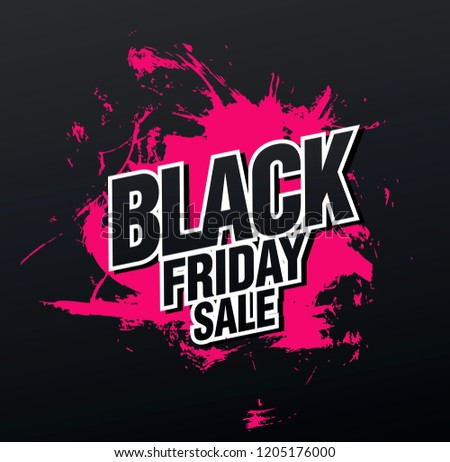 d9e53606445 black friday sale grungy poster design illustration - Download Free ...