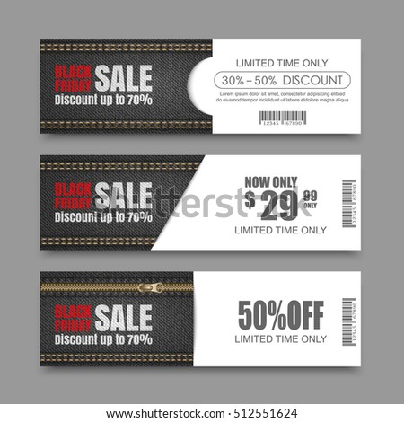 black friday sale banners. vector