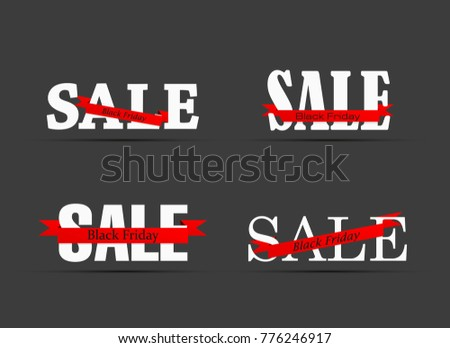 Sale discount banner poster design with arrow sign download free