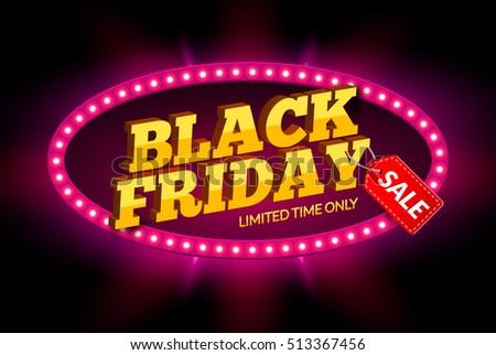 black friday sale frame design