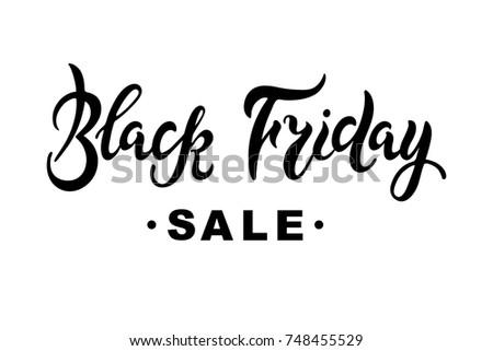 black friday sale hand drawn