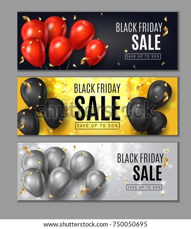 black friday sale horisontal