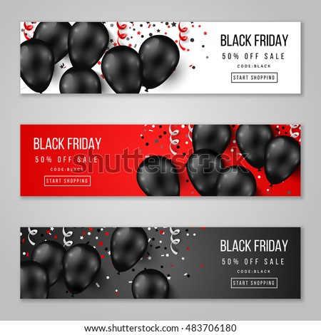 black friday sale horizontal