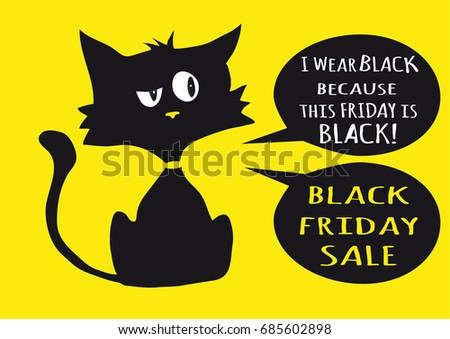 black friday sale poster with