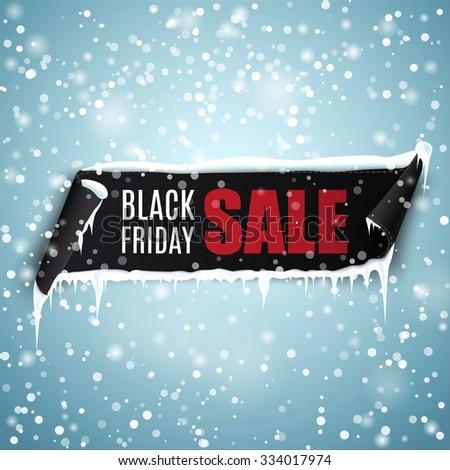black friday sale vector banner