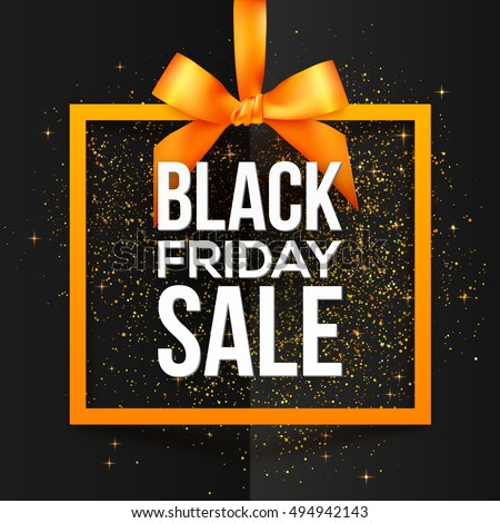 black friday sale white vector