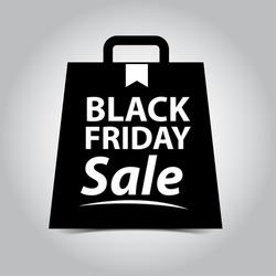 Black Friday Sales Bag Tag