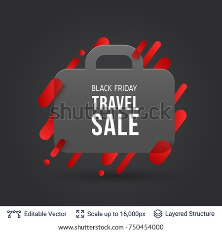 stock-vector-black-friday-travel-sale-offer-suitcase-silhouette-and-text-vector-template-for-big-discounts-and