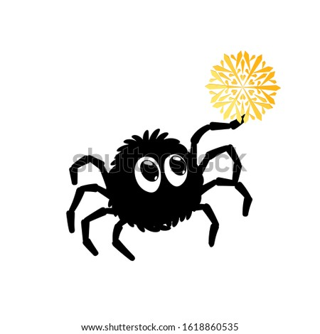 Spider Clipart Black And White Free Images - Incy Wincy Spider Clipart ,  Free Transparent Clipart - ClipartKey