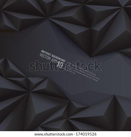 black geometrical background