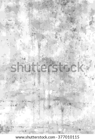 Black, gray and white grunge background in A4 dimensions - Eps10 vector graphic and illustration