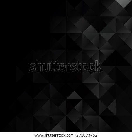 black grid mosaic background