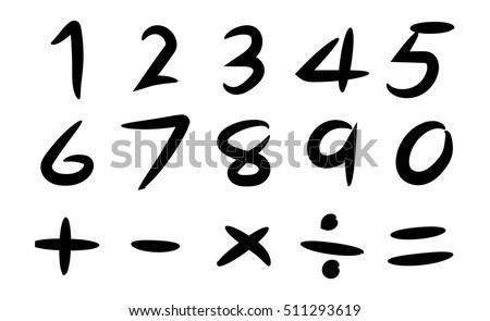 Free Mathematical Symbols Vecor Download Free Vector Art Stock