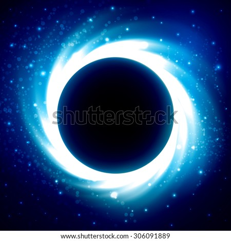 black hole or collapsar in