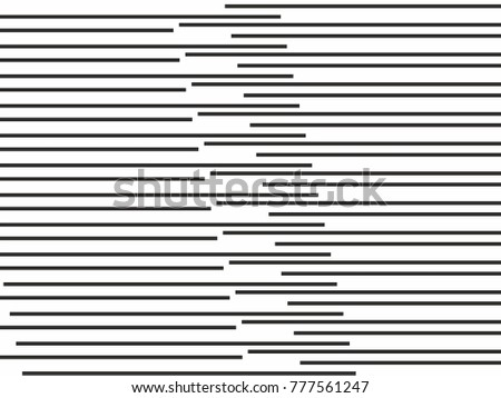 black horizontal lines striped textured vector background