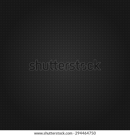 Black lace pattern background, vector