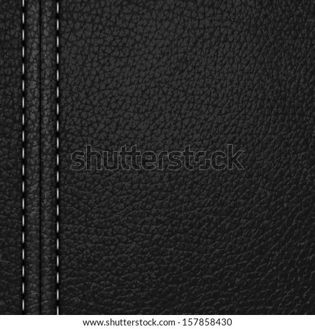black leather background with