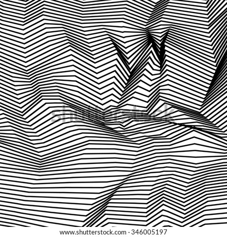 black lines  background with