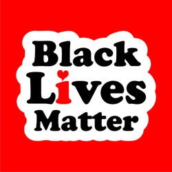 Black Lives Matter text vector vintage. stop racism. I can't breathe. stop shooting. don't shoot. black lives matter. lives matter. police violence. stop violence. poster. stop violence. protest