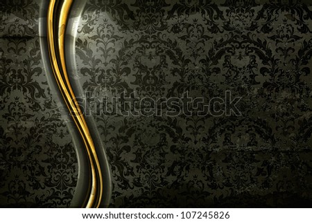 black luxury background  old