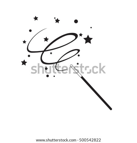 black magic wand icon