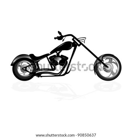 Realistic Motorcycle #127836908 - Larastock
