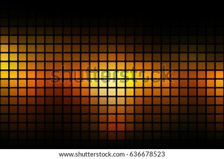 black orange yellow vector