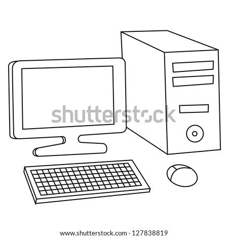 Stock Vector Happy Children Playing Icon Symbol Sign Pictogram furthermore Office kitchen together with Innovation Quotes likewise Stock Vector Black Outline Vector  puter On White Background furthermore Class9. on workplace privacy
