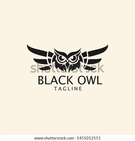 black owl logo   black owl