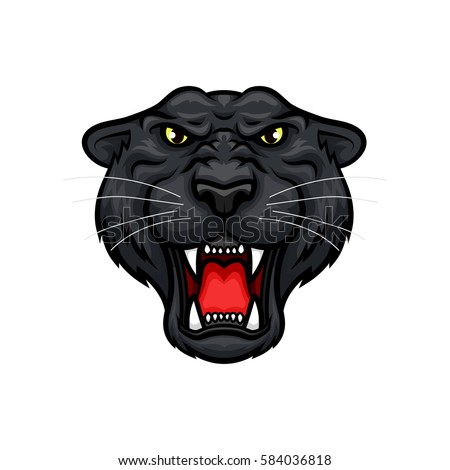 black panther vector mascot