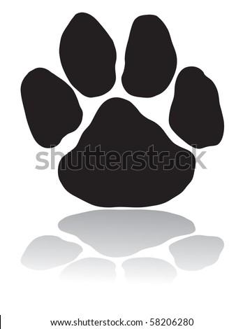 Black paw