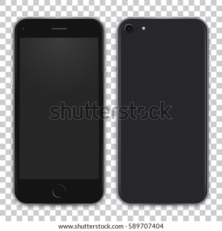 black phone concept from front