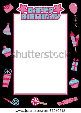 happy birthday text art facebook. happy birthday text art