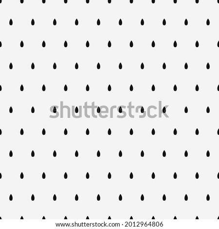 black polka dots drops vector