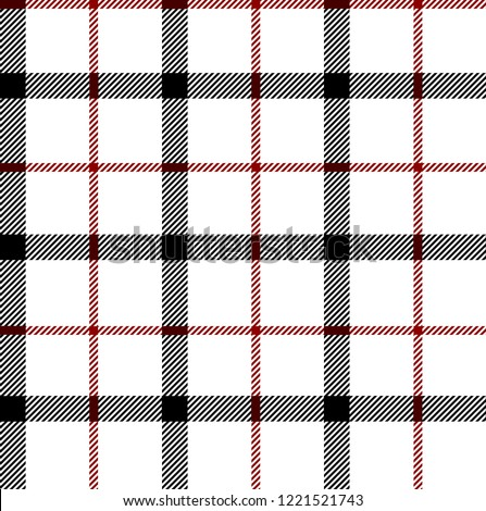Black,red and white tartan plaid Scottish seamless pattern.Texture from plaid, tablecloths, clothes, shirts, dresses, paper, bedding, blankets and other textile products.