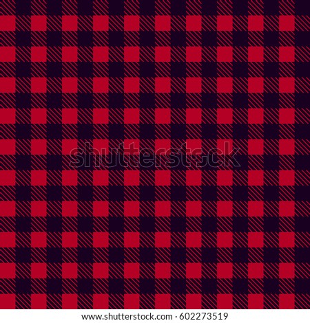 black red seamless tablecloth