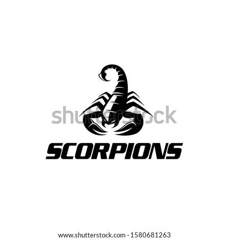 black scorpion   scorpion logo