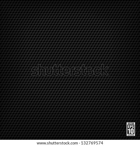 black seamless cubic texture