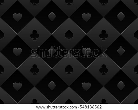 black seamless pattern fabric