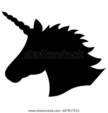 black shape silhouette  of the