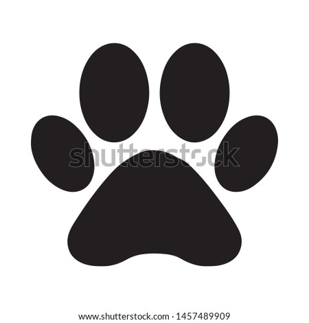 black silhouette of a cat or