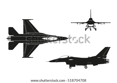 black silhouette of military