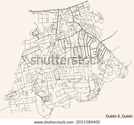 black simple detailed street