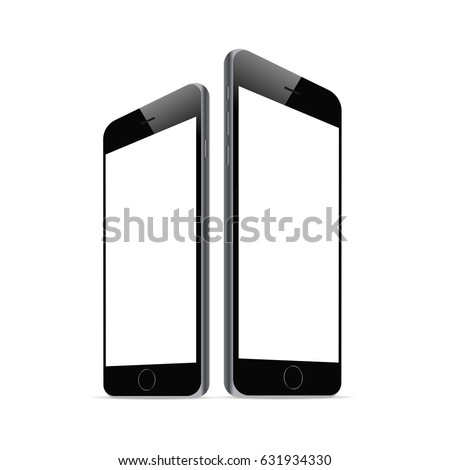 black smartphone iphone 6 with