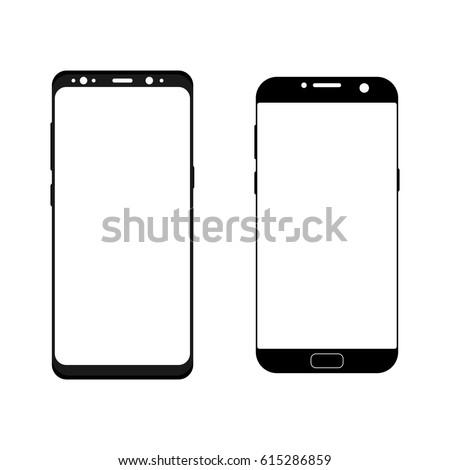 black smartphones samsung