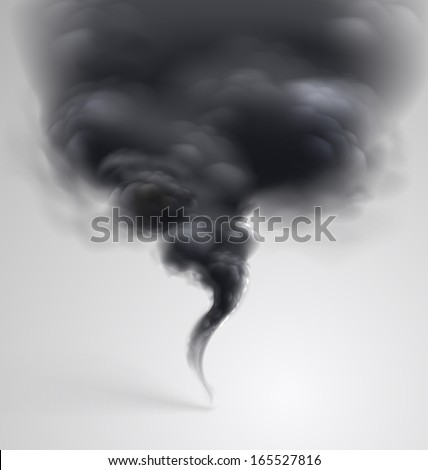 black  smoke on light