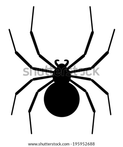 black widow spider silhouette - photo #28