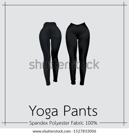 black sportswear pants women's